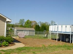 416 Mock Mill Road Statesville NC 28677 Side Yard